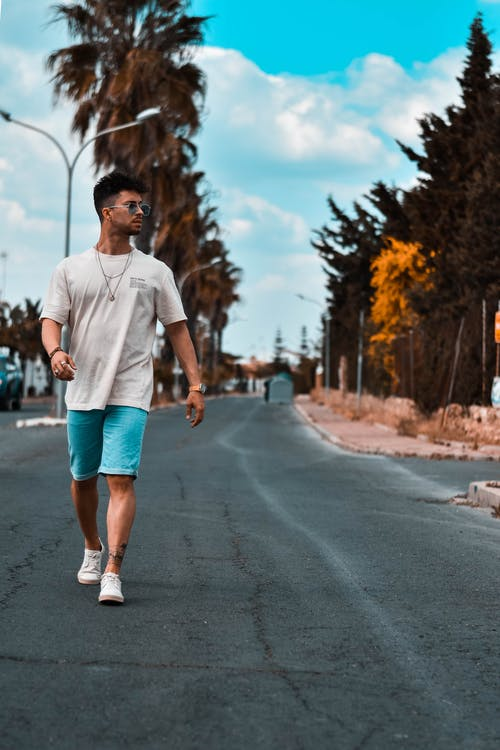 คลังภาพถ่ายฟรี ของ การเดิน, คน, ถนน, ผู้ชาย