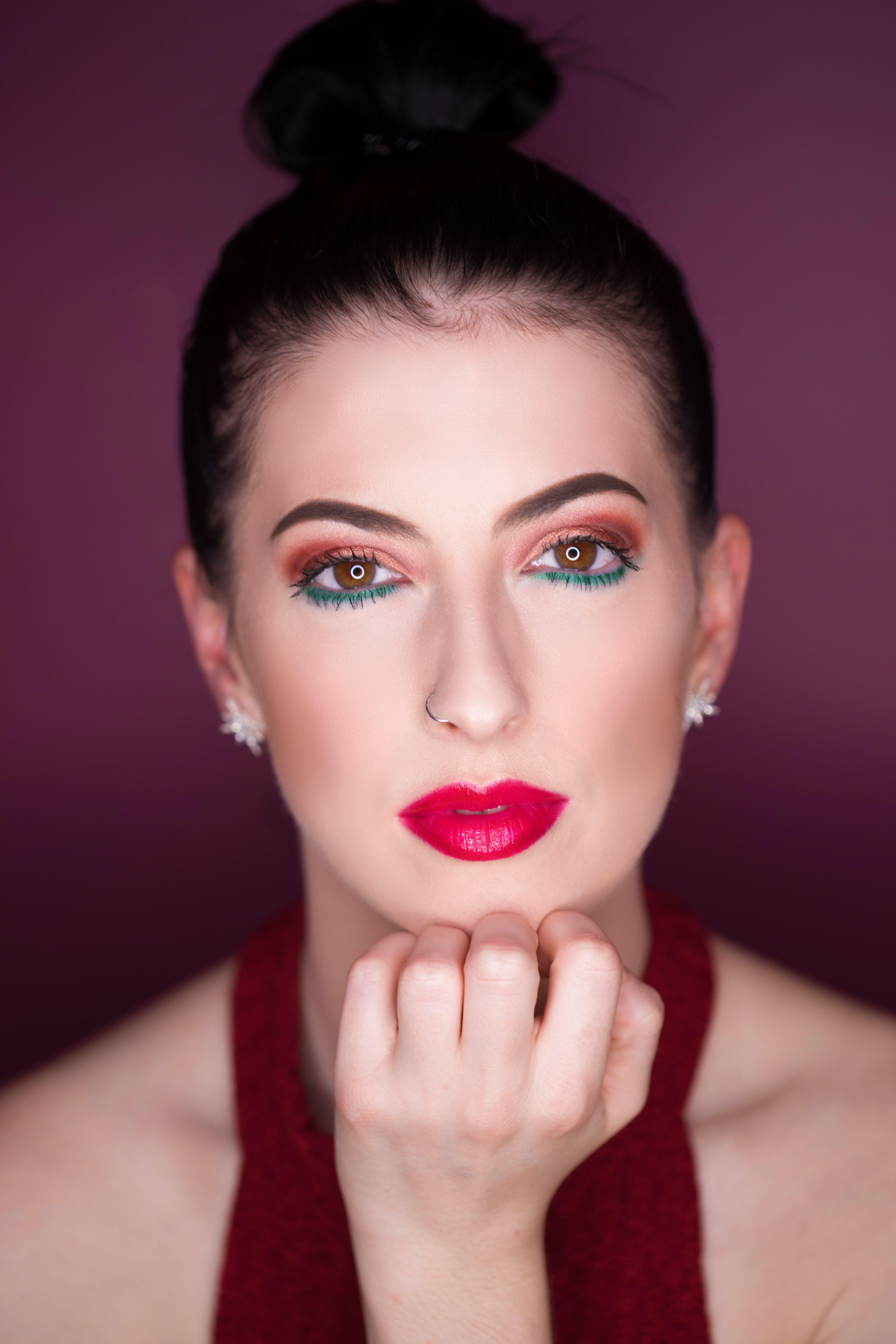 優雅, 光鮮亮麗, 化妝, 可愛 的 免费素材照片