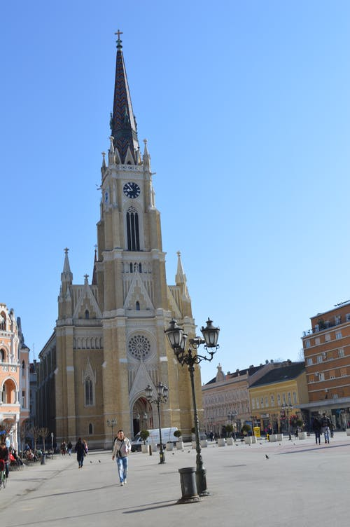 Free stock photo of catholic church