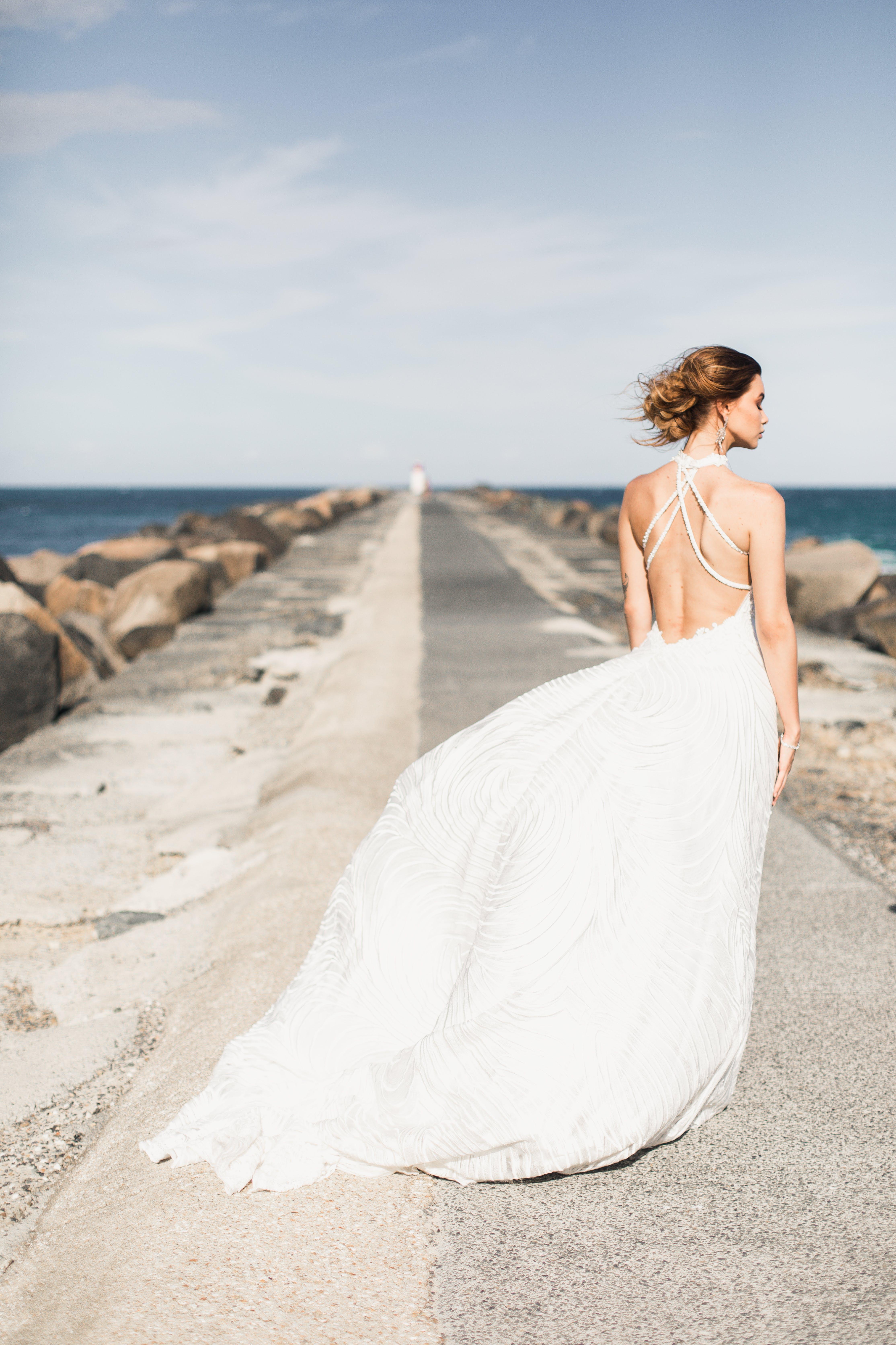Foto d'estoc gratuïta de a l'aire lliure, boda, dona, femella