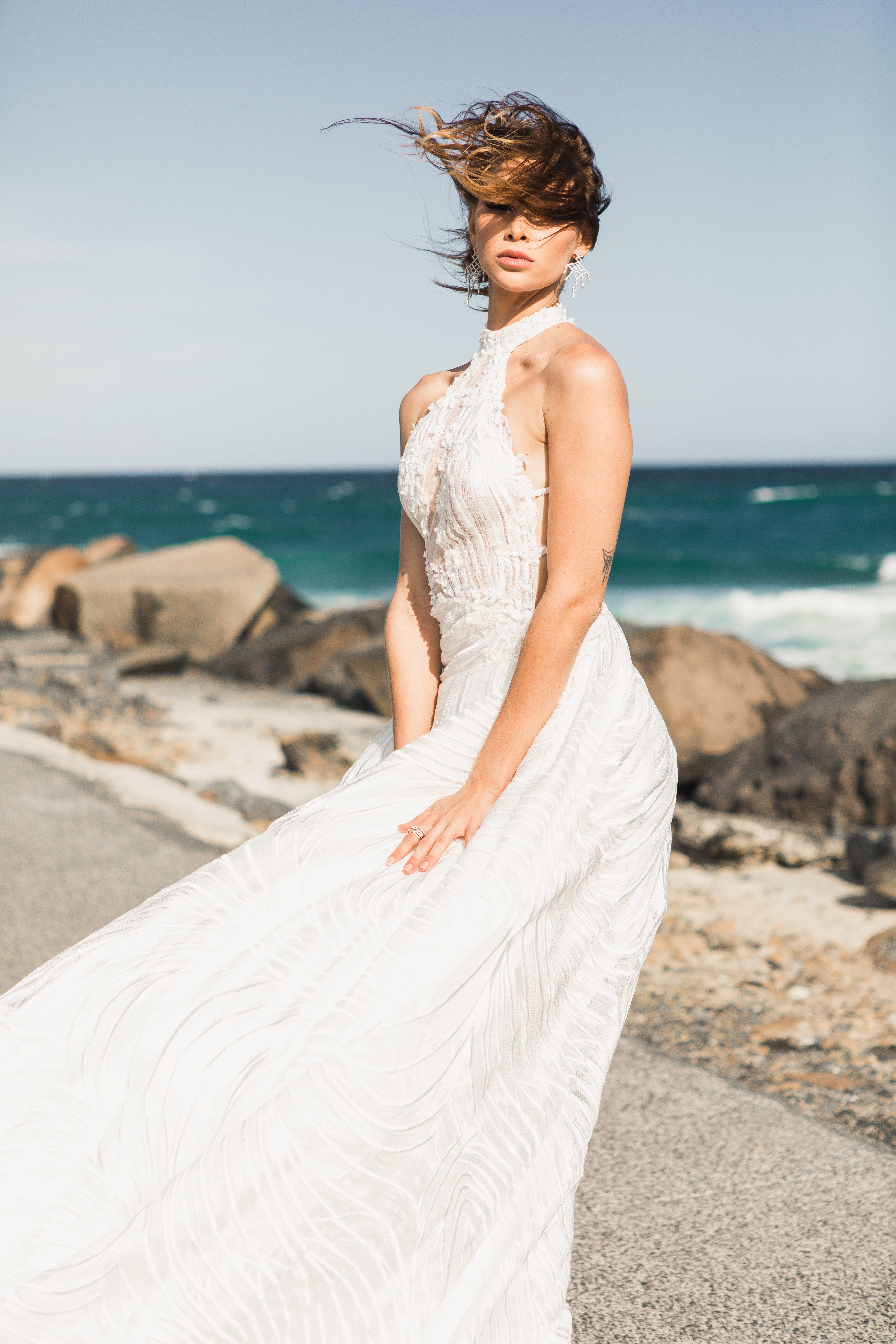 ウェディングドレス, 人, 女性, 結婚式用のガウンの無料の写真素材