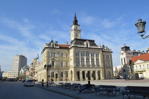 Free stock photo of city hall, novi sad city hall