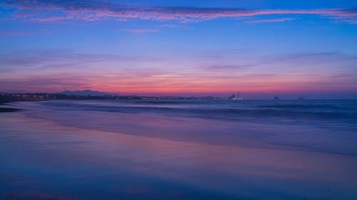 Free stock photo of beach, dusk, long exposure, new plymouth