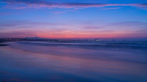 뉴질랜드, 바다, 새로운 플리머스, 손을 흔들다의 무료 스톡 사진