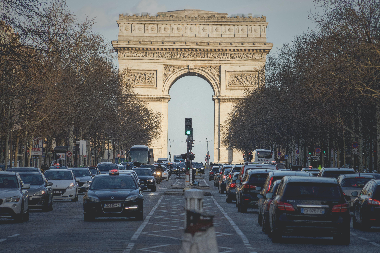 คลังภาพถ่ายฟรี ของ ประตูชัย, ปารีส