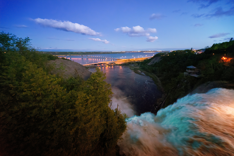 Gratis lagerfoto af aften, flod, flow, fugleperspektiv