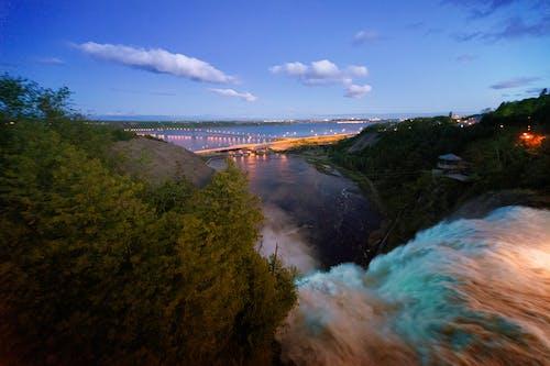 Waterfalls at Dusk
