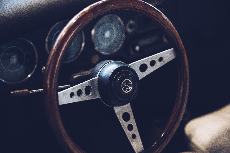 Brown Car Steering Wheel