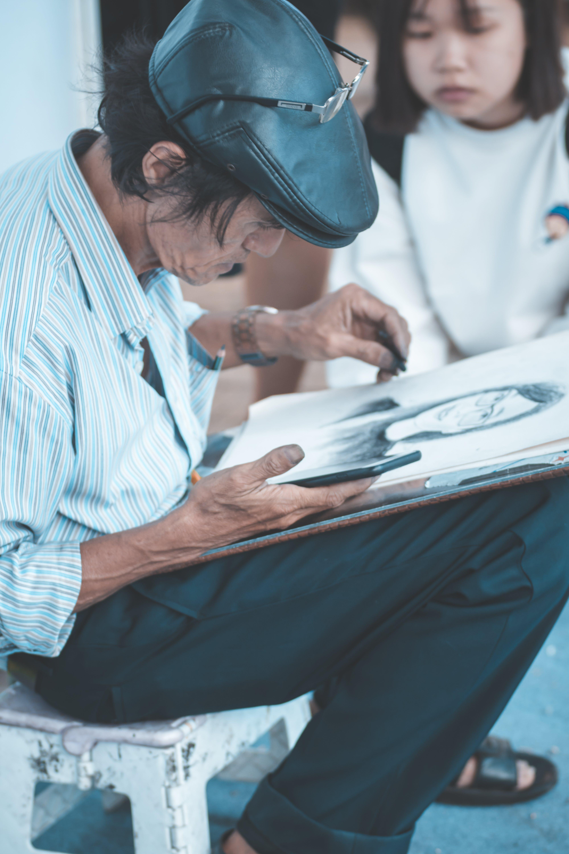 Безкоштовне стокове фото на тему «людина, малювання, малювати, персона»