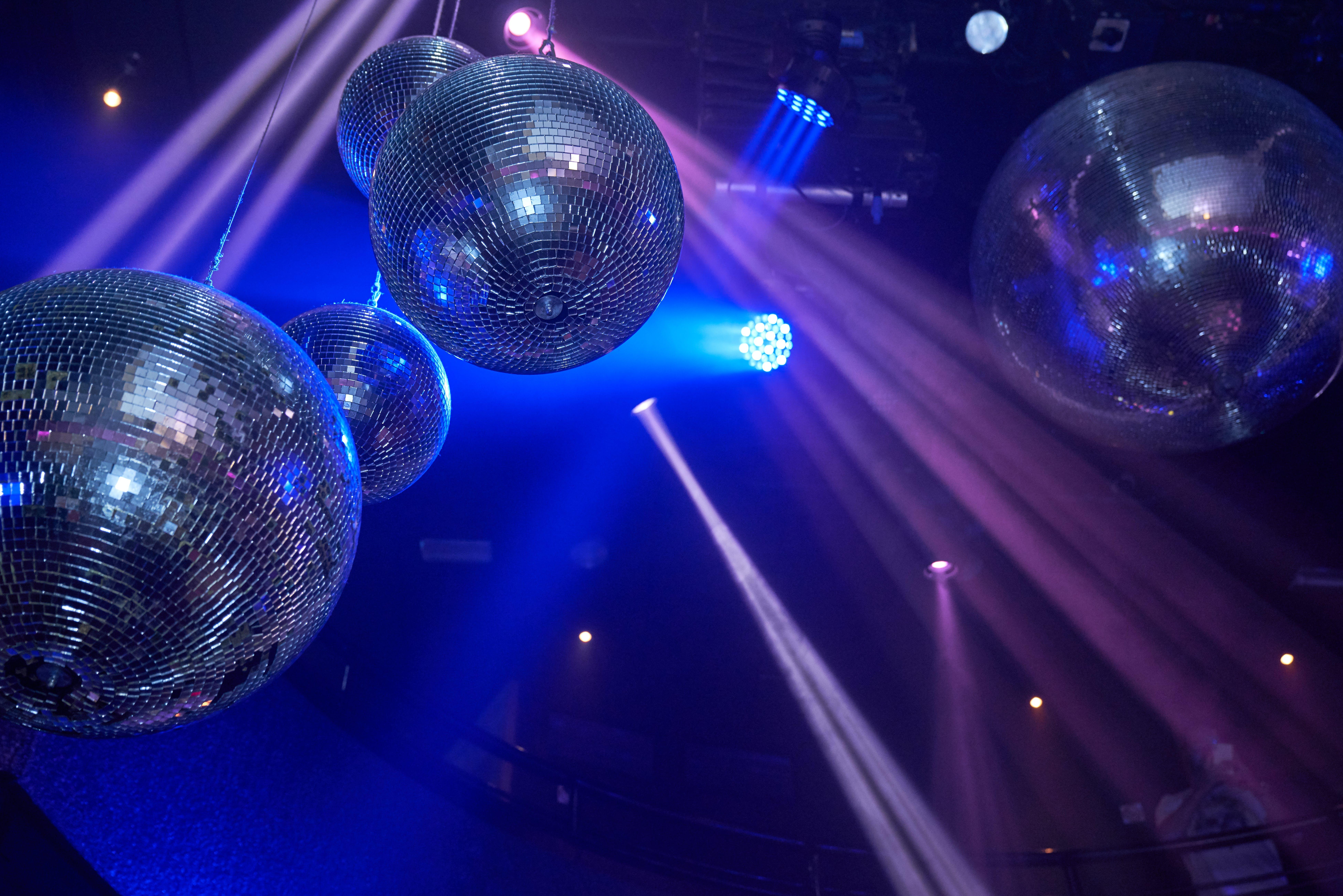 Free stock photo of disco, disco ball, discotheque, glamour party