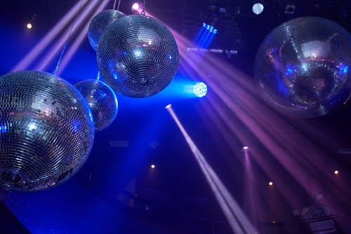 Free stock photo of disco, disco ball, discotheque, glamour party