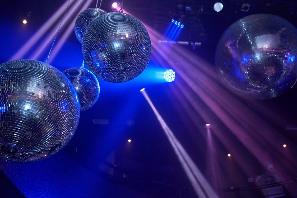 disco, disco ball, discotheque