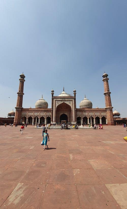 Foto stok gratis arsitektur islam, delhi, India, Islam