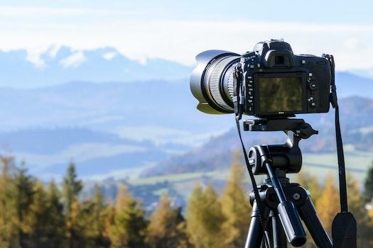 Kostenloses Stock Foto zu landschaft, kamera, foto machen, berg