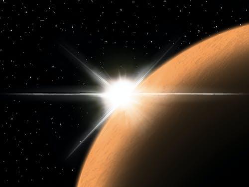 Imagine de stoc gratuită din astronomie, galaxie, pictură abstractă, planetă