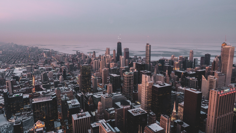 Foto d'estoc gratuïta de centre de la ciutat, ciutat, des de dalt, edificis