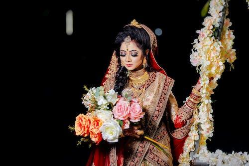 Foto stok gratis anggun, bagus, bangladesh, buket pernikahan