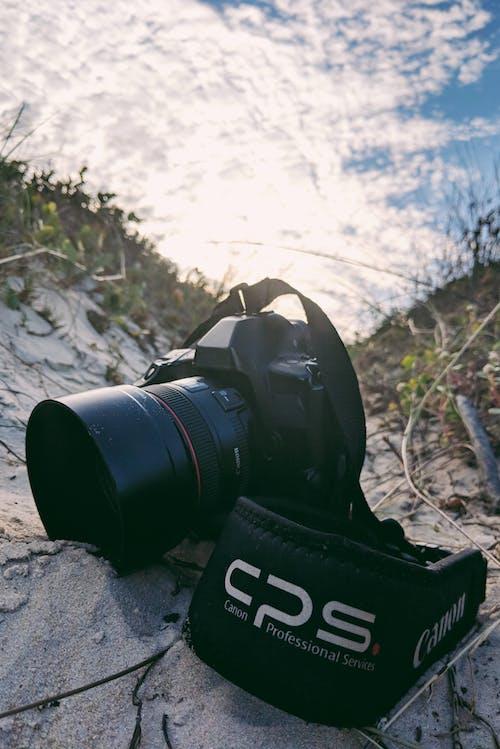 Kostnadsfri bild av kamera, kameralins, lins, sand