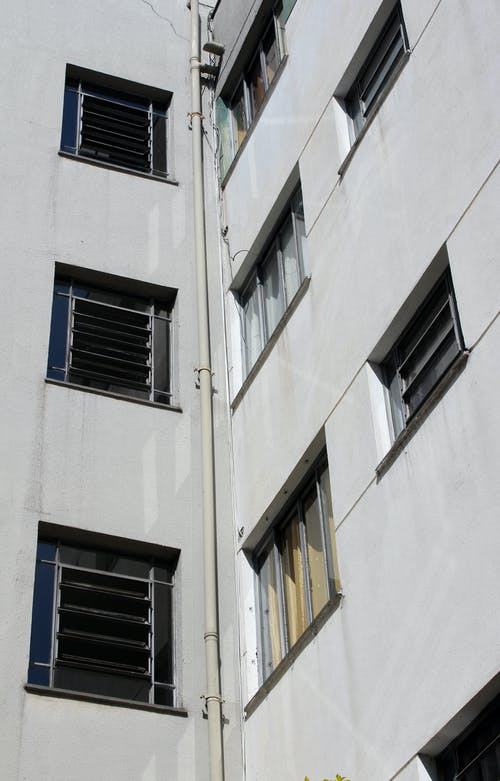 Gray 4-storey Building