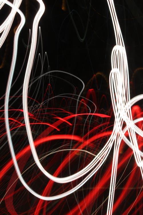 Imagine de stoc gratuită din dâre de lumină, expunere lungă, lumini, urme de lumină