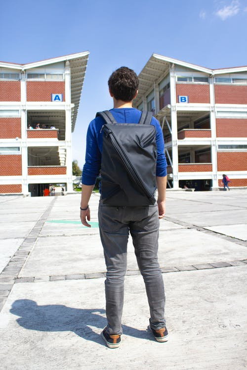 Free stock photo of backpack, person, school, teen