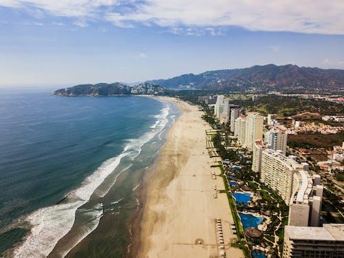 Immagine gratuita di acapulco, drone, fotografia da drone, hotel