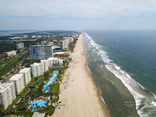 Безкоштовне стокове фото на тему «acapulco, готель, дрон, знімки з дрона»