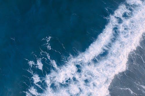 Základová fotografie zdarma na téma cákání, denní světlo, fotka zvysokého úhlu, letecký snímek
