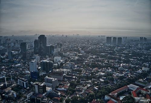 Бесплатное стоковое фото с архитектура, Аэрофотосъемка, вид, вид сверху