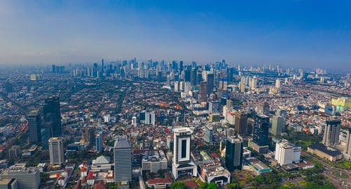 全景, 印尼, 印度尼西亞, 城市 的 免费素材图片