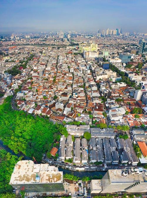 インドネシア, シティ, ジャカルタ, スカイラインの無料の写真素材