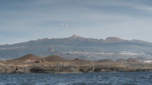 물, 비행기, 산, 스페인의 무료 스톡 사진