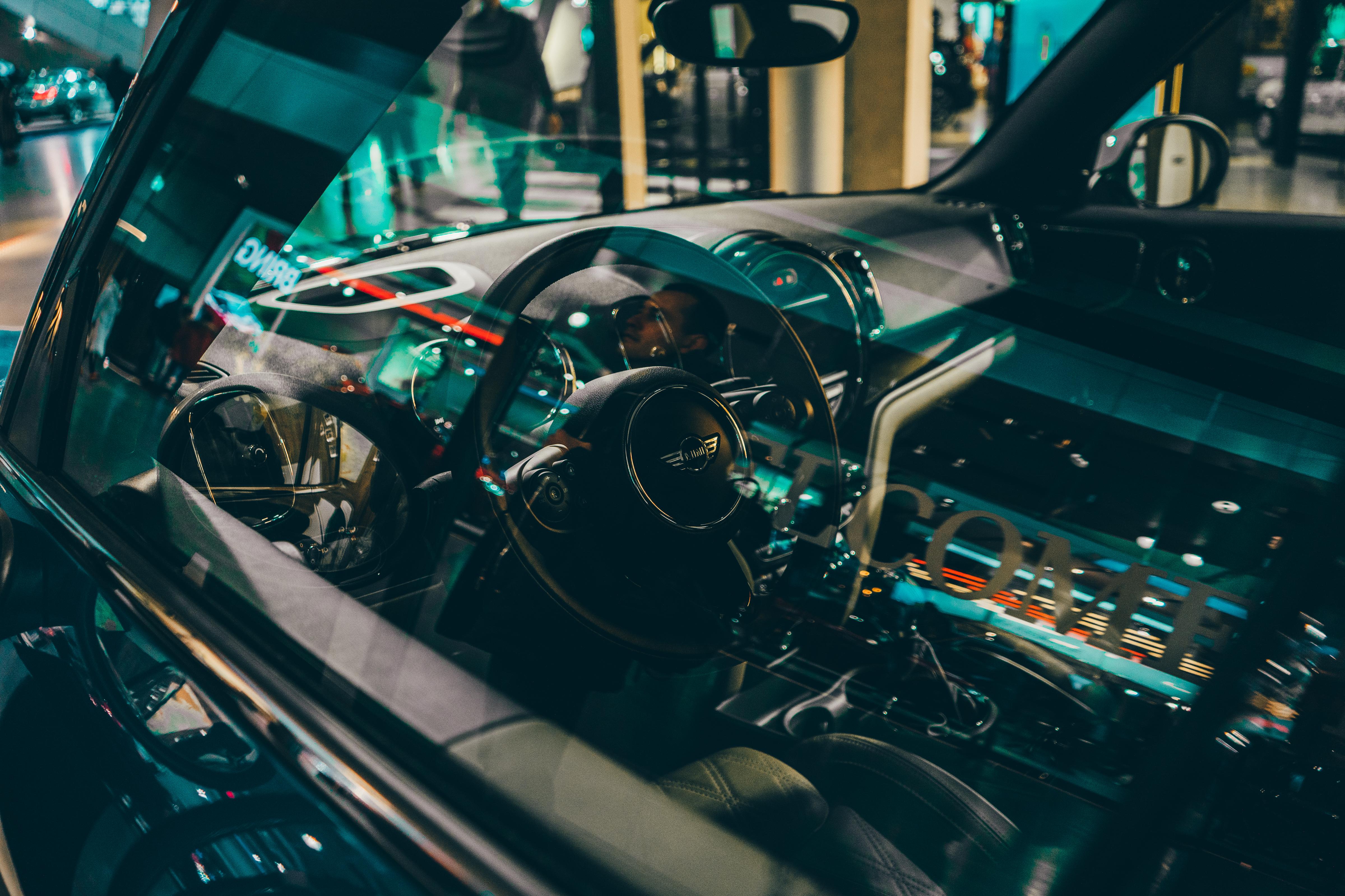 Mini Cooper Car Interior