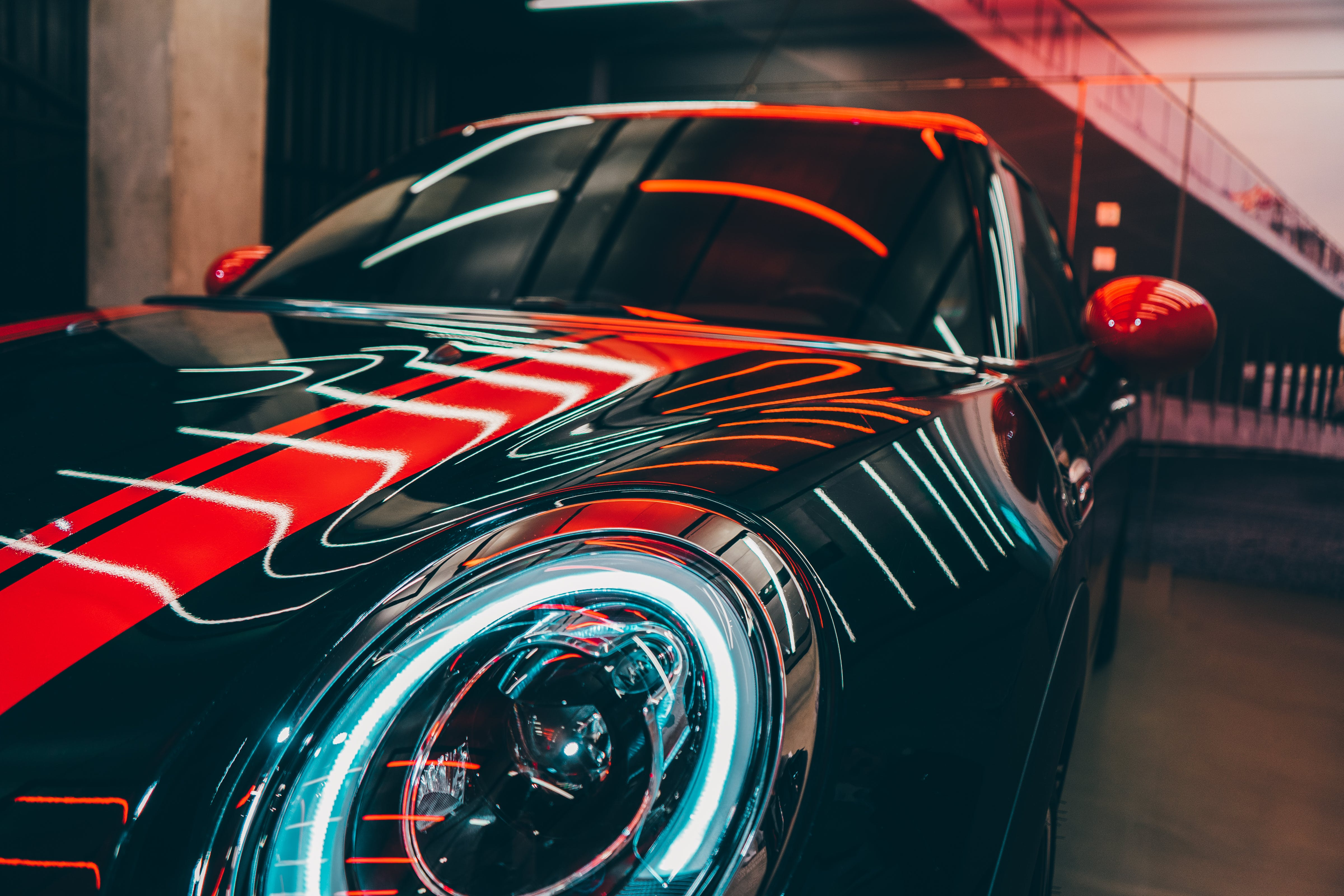 Black Porsche Vehicle