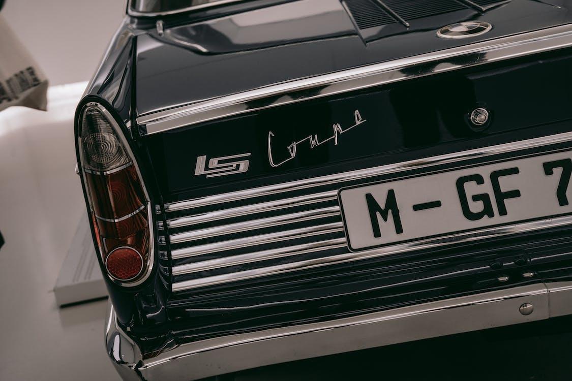 BMW, chrome, vintage