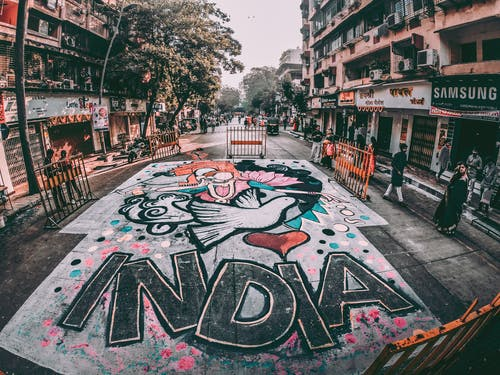Immagine gratuita di architettura, arte, arte applicata, arte di strada