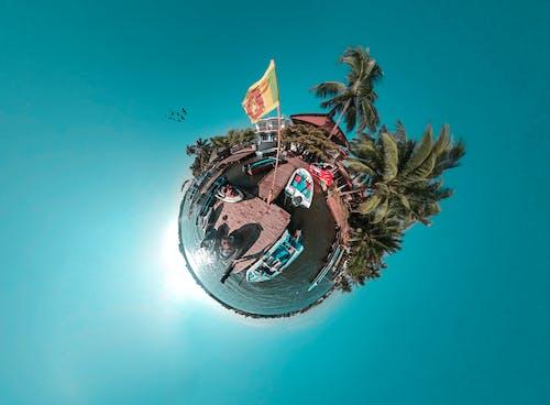 Ingyenes stockfotó 360, apró bolygó, kék, Sri Lanka témában