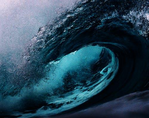Gratis lagerfoto af blå, bølger, episk, handling