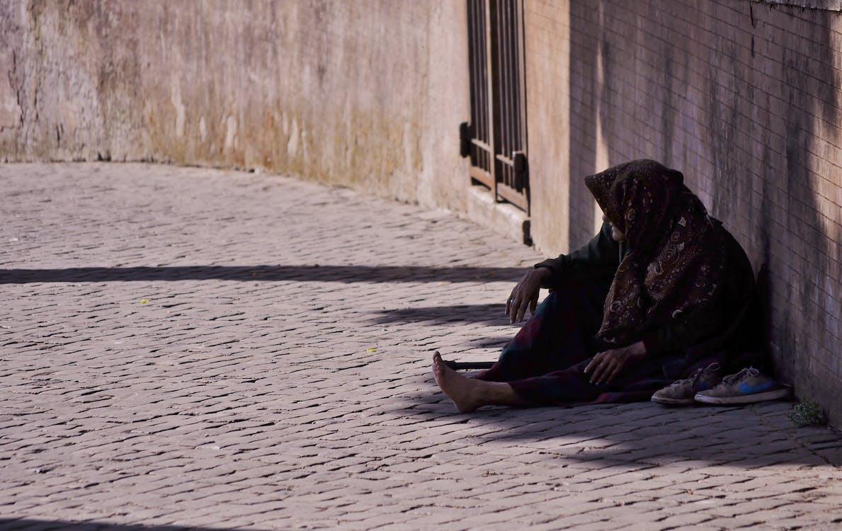 arbejdsløs, fattigdom, hjemløs