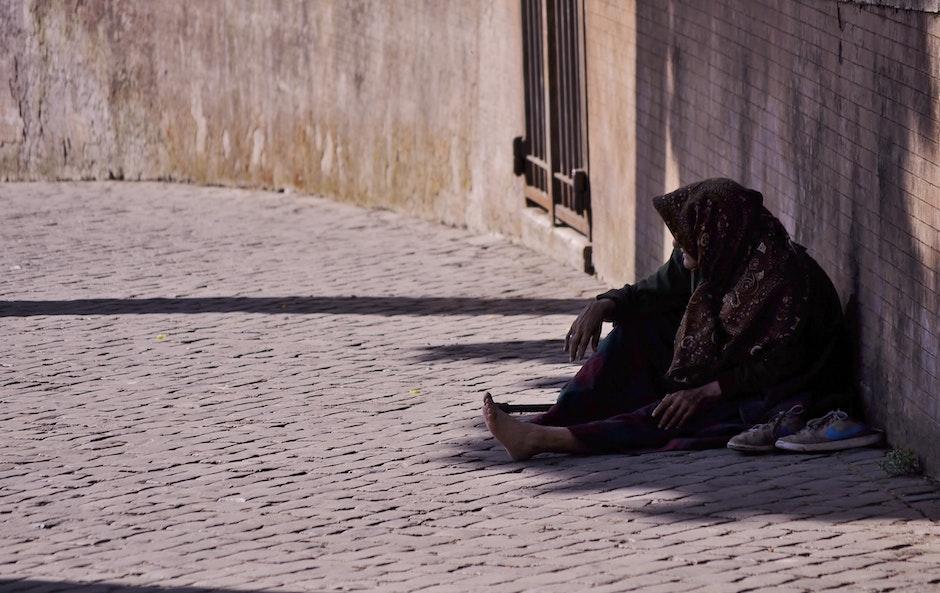 beggar, begging, homeless