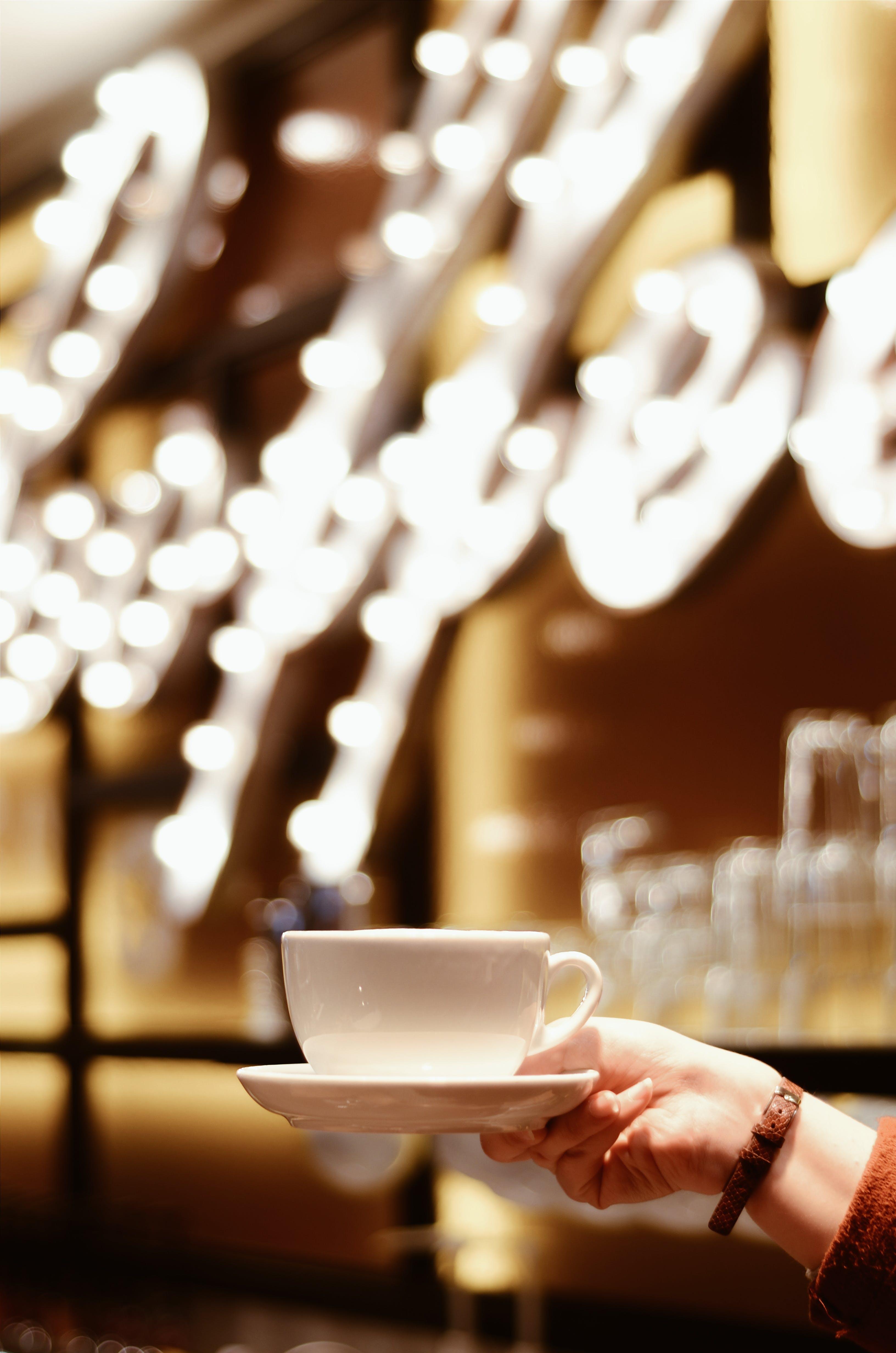 White Ceramic Coffee Cup