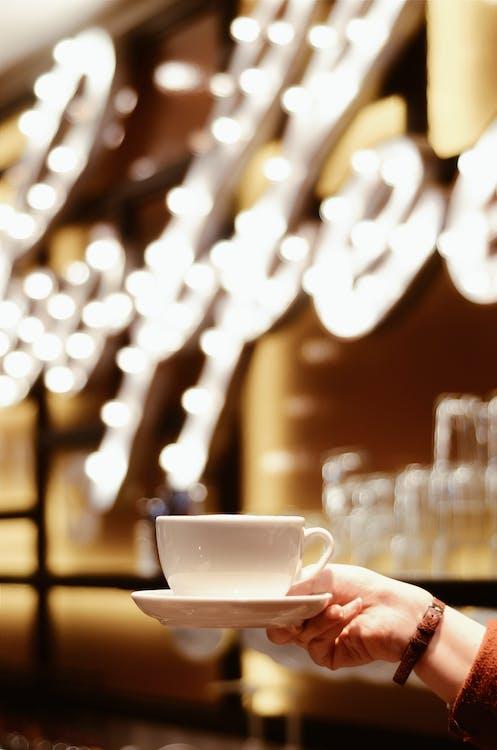 一杯咖啡, 人, 休閒