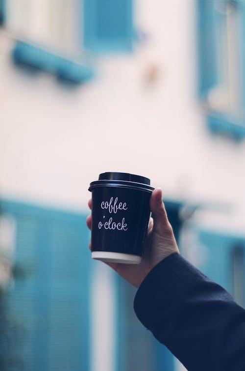 คลังภาพถ่ายฟรี ของ กลางแจ้ง, กาแฟ, กาแฟในถ้วย, ความชัดลึก
