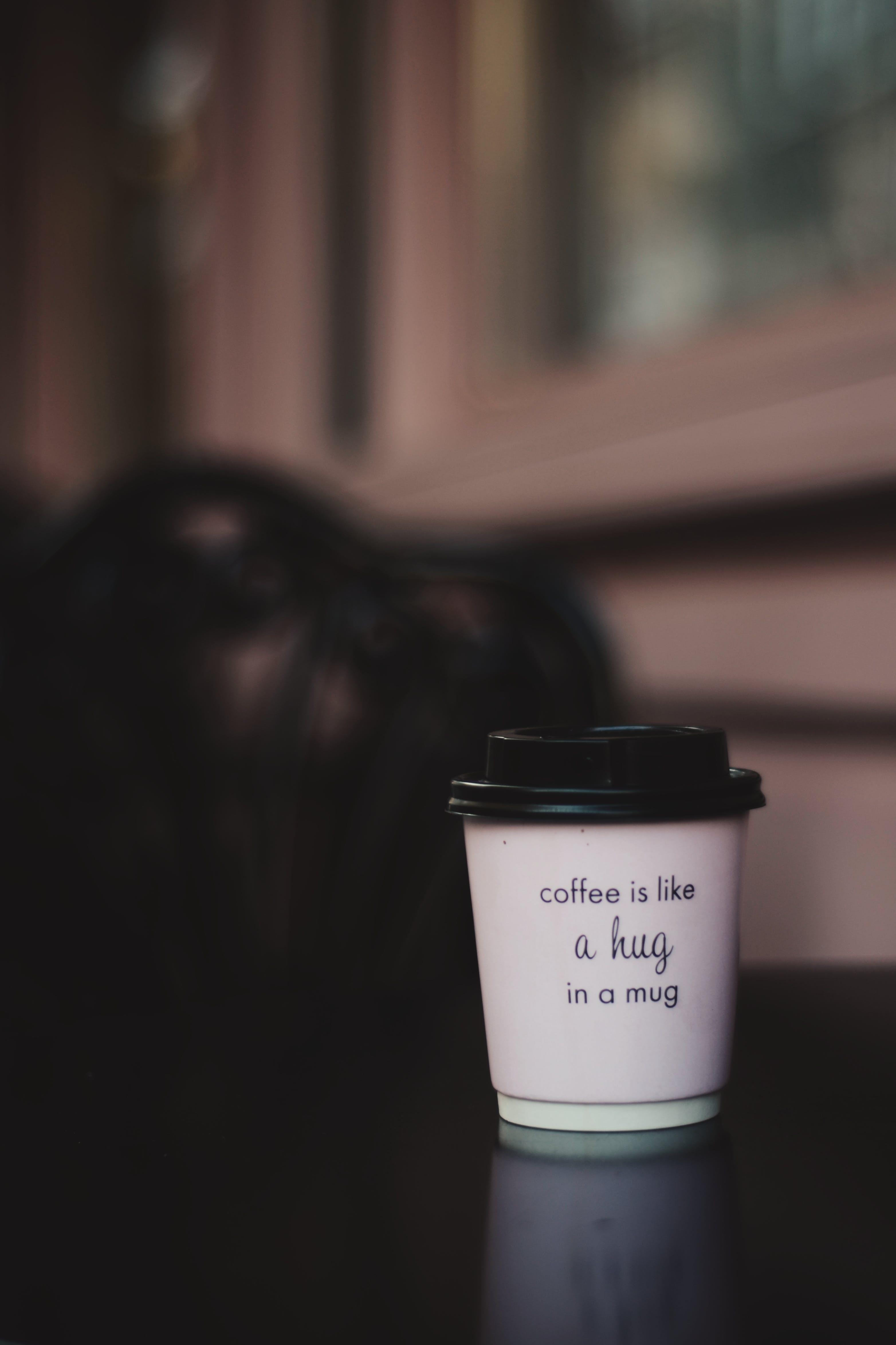 bebida, branco, café