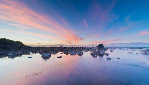 Kostnadsfri bild av blå, gryning, havsområde, havsstrand