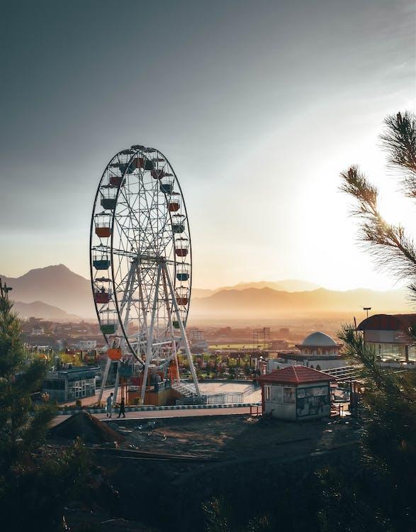 Photo of Ferris Wheel in Amusement Park