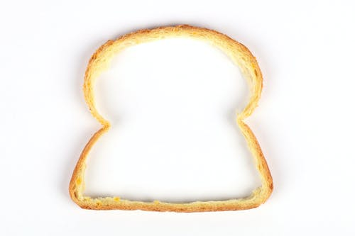 Δωρεάν στοκ φωτογραφιών με λευκό φόντο, περιγράμματα, ψωμί, ψωμί κρούστα