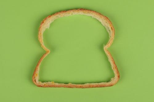 Δωρεάν στοκ φωτογραφιών με περιγράμματα, πράσινο φόντο, ψωμί, ψωμί κρούστα