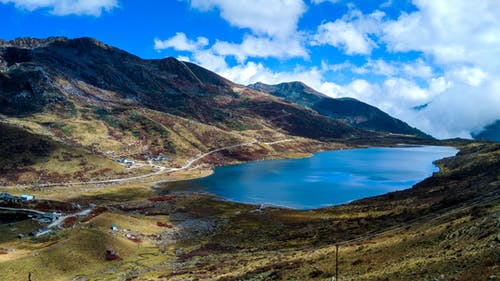 Kostnadsfri bild av berg, blå ton, dramatisk himmel, elefant sjö