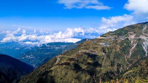 Kostnadsfri bild av berg, bergsutsikt, blå, dramatisk himmel